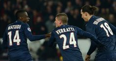 Blaise Matuidi earned PSG a draw with his goal deep into added time #soccer #sports
