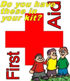 Camping first aid kit for kids - contents - 10 must-have First aid supplies you should have in your first aid kit if you are camping with kids.