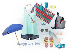 """""""Crazy on Sea"""" by isabellatubarao ❤ liked on Polyvore"""