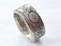 Japanese coin ring