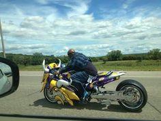 Minnesota Vikings motorcycle...