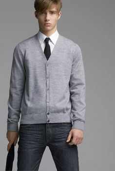 uniqlo-gray-cardigan-081107.png (274×408)