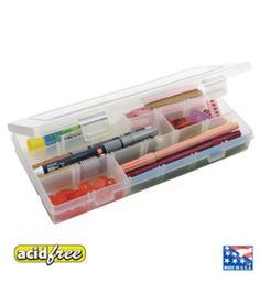 """ArtBin Solutions Compartment Box-9""""X5""""X1-2/5"""""""