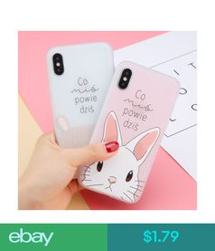Cases, Covers & Skins Ultra-Thin Cute Pattern Tpu Case Shockproof Cover For Apple Iphone 8 X 6S 7 Plus #ebay #Electronics