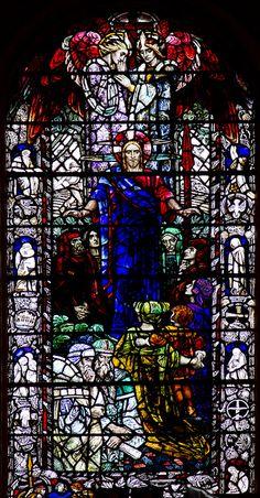 Beautiful window, c.1934 in the church of St Andrew & St George in Edinburgh.