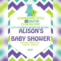 A manda creation monsters inc baby shower day 4 baby shower a manda creation monsters inc baby shower day 4 baby shower decorations pinterest monsters babies and babyshower filmwisefo