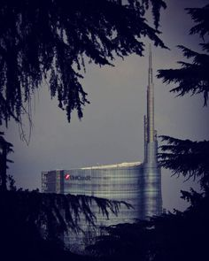 #unicredittower #grattacielo #skyscraper #alberi #trees #nascosto #hidden #milano #milan #volgomilano #volgolombardia #volgoitalia #milanodavedere #milanosegreta #igersmilano #zonasarpisempione #parcosempione #park by elenabona77