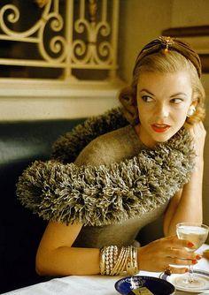 """Caterpillar"" fashions, photo by Nina Leen, 1954"