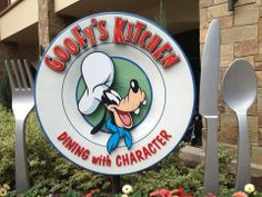 Goofy's Kitchen at Disneyland Hotel Anaheim, CA