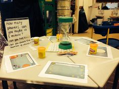 Maths challenge in the malleable area. M_LDx Early Years Topics, Early Years Maths, Space Activities, Creative Activities, Activities For Kids, Maths Eyfs, Numeracy, Maths Display, Math Tables