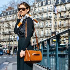 Jenny Walton, Paris Fashion Week, by Tommy Ton