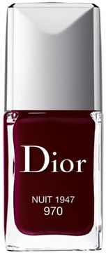 Christian Dior Vernis, Nuit 1947 on shopstyle.com | For a complete look, dress nails with a splash of popping color from the Dior Vernis nail lacquer. Available in four shades, the Dior Nail Lacquers are free of these five Harmful ingredients: dibutyl phthalate, toluene, formaldehyde, formaldehyde resin, and camphor.