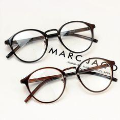 Chashma Vintage circle non-mainstream glasses Women plain mirror male big ultra-light eyeglasses frame myopia
