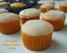 Mystery Lovers' Kitchen: How to Make Glazed Eggnog Muffins + a #bookgiveaway from mystery author @Cleo Coyle