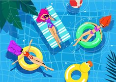 Pop Up Swimming Pool . Pop Up Swimming Pool . Illustrations Of Girls In the Pool Pool Flat Summer Swimming Pool Pictures, Swimming Pool Water, Swimming Pool Designs, Pool Fun, Baby Beach Tent, Backyard Pool Landscaping, Backyard Ideas, Four Seasons Room, Wallpaper Pictures