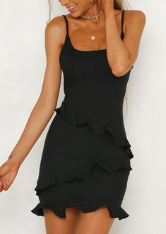 Ideas Dress Black Outfit Casual Necklaces For 2019 Hoco Dresses, Trendy Dresses, Cheap Dresses, Sexy Dresses, Sexy Little Black Dresses, Dress Black, Fashion Model Poses, Casual Outfits, Fashion Outfits