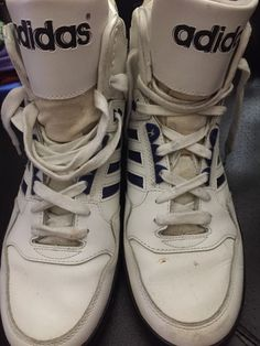 Vintage Adidas High Top Sneakers  in Clothing, Shoes & Accessories, Men's Shoes, Athletic | eBay