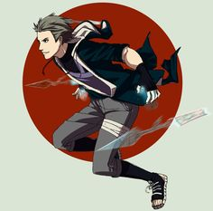 Hideo (luv names on H) uses tiger sennin mode Name:Hideo Age:about 19-20~~ Gender:male. Height:180 cm Weight:80 kg Blood Type:0 Affiliation:Hunting G...