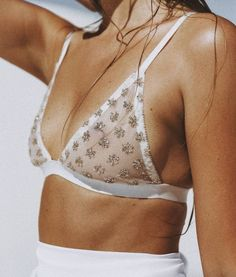 embellished bralette Curated: @sommerswim