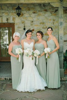 Wedding Color Trends: 30 Silver Sage Green Wedding Color Ideas Wedding Color Trends: 30 Silver Sage Green Wedding Color Ideassilver sage green wedding color ideas and trends for green strapless Bridesmaid Dresses Under 100, Brides And Bridesmaids, Mint Green Bridesmaids, Sage Green Dress, Sage Green Wedding, Wedding Colors, Wedding Ideas, Dress Wedding, Wedding Lace