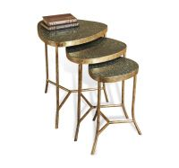 Selat Marble Nesting Tables  Interl
