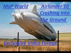 World Biggest Airlander 10 craft crashes during its second test flight and Hit the ground !!!!!??  Original story (April 29 2016)  Airlander 10 the world's largest and longest aircraft is preparing to gently glide out of its gargantuan shedwhich is incide