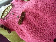 Crocheted Dress - The Supermums Craft Fair