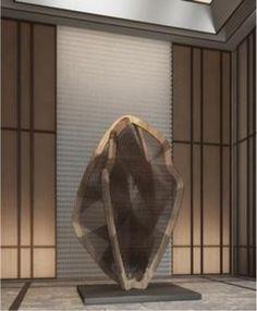Geometric Sculpture, Metal Art Sculpture, Abstract Sculpture, Art Stand, Commercial Design, Apartment Interior, Installation Art, Interior Design Living Room, Art Drawings