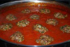Whole 30 marinara and meatballs