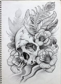 Flower Tattoo Sketches | sketches # tattoo # skull # drawing tatto art  | tattoos picture tattoo sketches