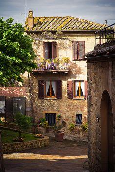 Italian Spring - Monticchiello, Tuscany, Italy | by Dennis_F