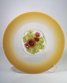 Tan Sea Fan Platter by David & Melanie Leppla