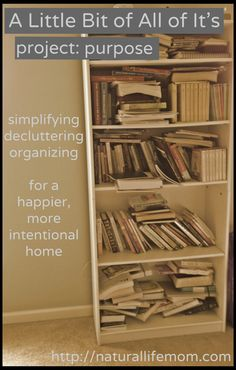 Decluttering, simplifying, organizing - project for this month is the master bedroom