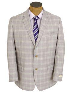 NEW Mens Michael Kors Purple Plaid Wool Sport Coat Jacket #MichaelKors #TwoButton Ramone disneybound dapper day