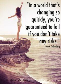Hey You! Start Take Some Risks   #risktaking #quotes #motivational