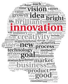 Innovation and technology concept in tag cloud | Foto stock © olechowski #20821253