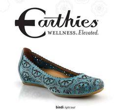 Cute shoes for Plantar Fasciitis--Earthies Bindi! https://www.barkingdogshoes.com/2014/05/flats-arch-support.html