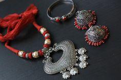 Tribal Boho Thread Necklace