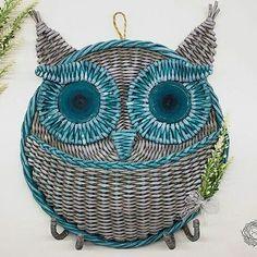Gorgeous ..!!!..Credit : @lagidno -  В качестве первой записи здесь без сомнений выбираю фото одного из своих любимых творений. Это - плетенная ключница с кармашком в цвета которой я просто влюбилась! . #owl #owls #owllove