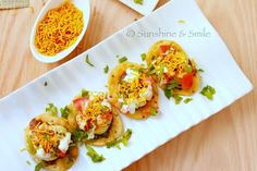 foodwanderings: Papri Chaat - Indian Street Food Treat a Guest Post by Sunshine and Smile