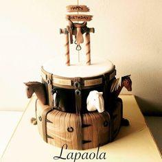 Horses cake - Cake by Lapaola