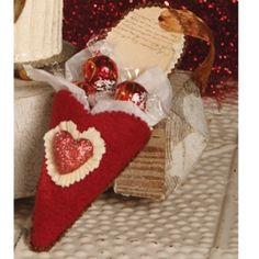 Bethany Lowe Valentine Slipper Ornament