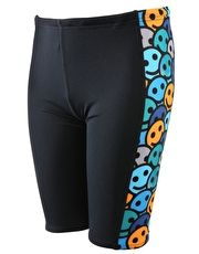 Maru Boys Smilers Pacer Panel Jammer - Black and Blue Boys will adore the chlorine resistant Maru Boys Smilers Pacer Panel Jammer with the vibrant and funky side panel which ads a dash of energy to any club or squad training http://www.MightGet.com/january-2017-13/maru-boys-smilers-pacer-panel-jammer--black-and-blue.asp