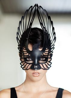 Lacy Leather Masks