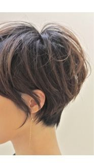 This shape with the wispy edges and shorter crown, close nape.