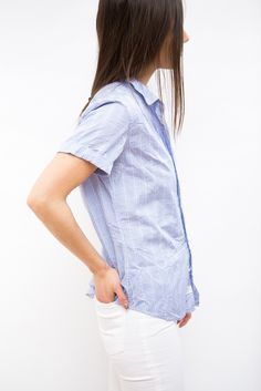 Frank & Eileen Short Sleeve Button Down Shirt
