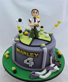 Ben 10 by cake by kim, via Flickr