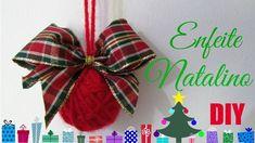 Bola Natalina e Laço | Diy Especial de Natal #2