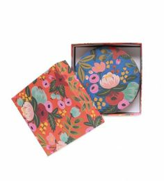 Rifle Paper Co. - Floral - 8 Coasters Featuring 4 Designs