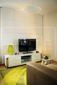 Model 12 - pokój dzienny/ salon.  Kliknij zdjęcie by uzyskać więcej informacji lub aby przejść na naszą stronę internetową.